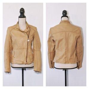 NWOT Muubaa Kendyll Tan Leather Jacket